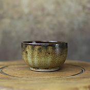 Посуда ручной работы. Ярмарка Мастеров - ручная работа дымчатая чайная чаша. Handmade.