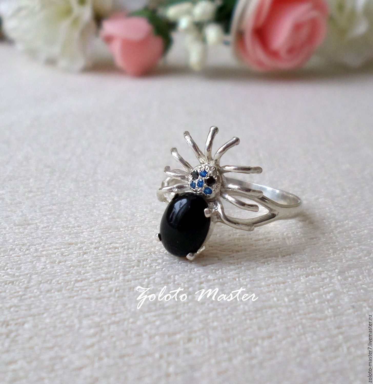 Ring 'Spider' 925 sterling Silver, Rings, Chaikovsky,  Фото №1