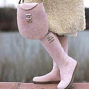 """Обувь ручной работы. Ярмарка Мастеров - ручная работа Комплект """"Перламутр"""". Handmade."""