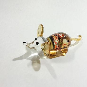 Для дома и интерьера ручной работы. Ярмарка Мастеров - ручная работа Мышка золотистая. Handmade.