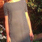 Одежда ручной работы. Ярмарка Мастеров - ручная работа Мини платье в горох. Handmade.