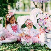 Работы для детей, ручной работы. Ярмарка Мастеров - ручная работа Футболки и боди с цветочным декором. Handmade.