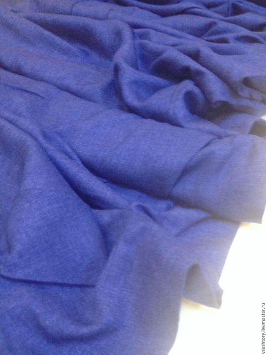 Шитье ручной работы. Ярмарка Мастеров - ручная работа. Купить Скидка 15% Ткань для штор рогожка под лен ультрамариновая. Handmade.