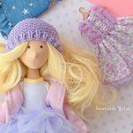 Bonecas da Yulia Текстильные куклы - Ярмарка Мастеров - ручная работа, handmade