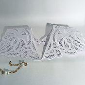 handmade. Livemaster - original item Lace detachable collar