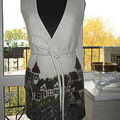 """Одежда ручной работы. Ярмарка Мастеров - ручная работа ЖИЛЕТ """"Мелодия старого квартала"""". Handmade."""