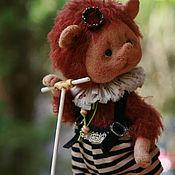 Куклы и игрушки ручной работы. Ярмарка Мастеров - ручная работа Прынц на белом самокате. Handmade.