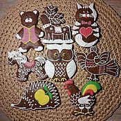 Сувениры и подарки handmade. Livemaster - original item Northern pryaniki.Nabor