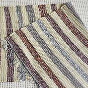 Для дома и интерьера ручной работы. Ярмарка Мастеров - ручная работа Половик ручного ткачества (№ 133). Handmade.