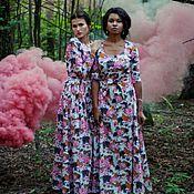 Одежда ручной работы. Ярмарка Мастеров - ручная работа Платье  Flower. Handmade.