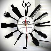"""Для дома и интерьера handmade. Livemaster - original item Wall clock """"Time of beauty"""". Handmade."""