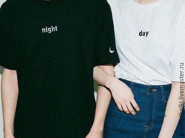 4f2d76db Парные футболки на заказ с любым принтом – купить в интернет ...
