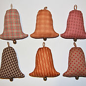 Сувениры и подарки handmade. Livemaster - original item Textile toy Bell. Handmade.