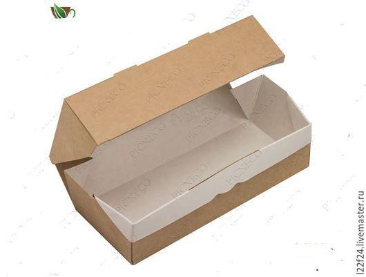 Упаковка ручной работы. Ярмарка Мастеров - ручная работа. Купить Коробка 7:17:4. Handmade. Коричневый, крафт упаковка, упаковка