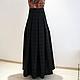Юбки ручной работы. Длинная юбка в пол из элитной шерсти. LADY SHRI (ОЛЬГА). Интернет-магазин Ярмарка Мастеров.