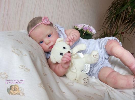 Куклы-младенцы и reborn ручной работы. Ярмарка Мастеров - ручная работа. Купить Кукла реборн из молда Кристалл. Handmade.