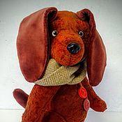 Подарки к праздникам ручной работы. Ярмарка Мастеров - ручная работа Собака Тедди 2. Handmade.
