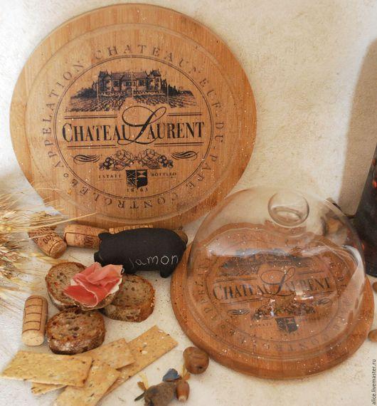 Кухня ручной работы. Ярмарка Мастеров - ручная работа. Купить Набор досок Chateau. Handmade. Доска разделочная, сыр, стекло
