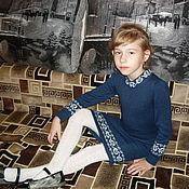 """Работы для детей, ручной работы. Ярмарка Мастеров - ручная работа Платье """"Школьное"""". Handmade."""
