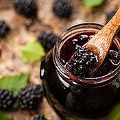 Сувениры и подарки handmade. Livemaster - original item BlackBerry - rosemary jam