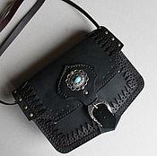 Сумки и аксессуары ручной работы. Ярмарка Мастеров - ручная работа Черная маленькая сумка. Handmade.