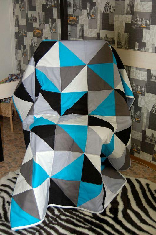 """Текстиль, ковры ручной работы. Ярмарка Мастеров - ручная работа. Купить Одеяло/покрывало """"Подростковое"""" 2. Handmade. Лоскутное шитье, одеяло"""