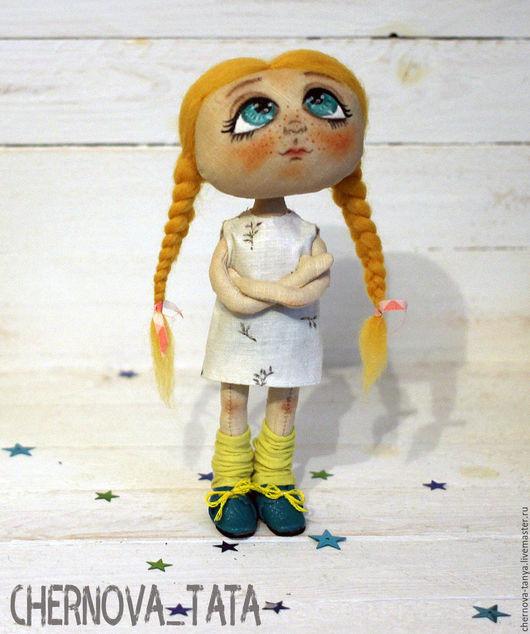 Коллекционные куклы ручной работы. Ярмарка Мастеров - ручная работа. Купить Обижуля. Handmade. Подарок, кукла ручной работы, кукла