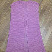 Одежда ручной работы. Ярмарка Мастеров - ручная работа Жилетка вязаная. Handmade.