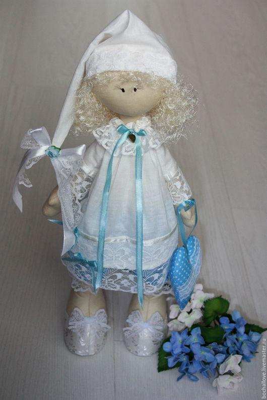 Коллекционные куклы ручной работы. Ярмарка Мастеров - ручная работа. Купить Интерьерная кукла. Большеножка. Handmade. Тильда кукла, большеножка