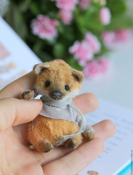 Мишки Тедди ручной работы. Ярмарка Мастеров - ручная работа. Купить Лисенок. Handmade. Рыжий, лисичка