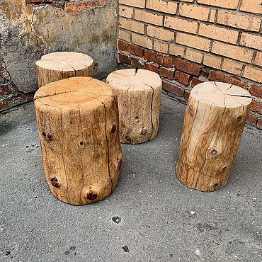 Мебель ручной работы. Ярмарка Мастеров - ручная работа Табуреты: Старый пень. Handmade.