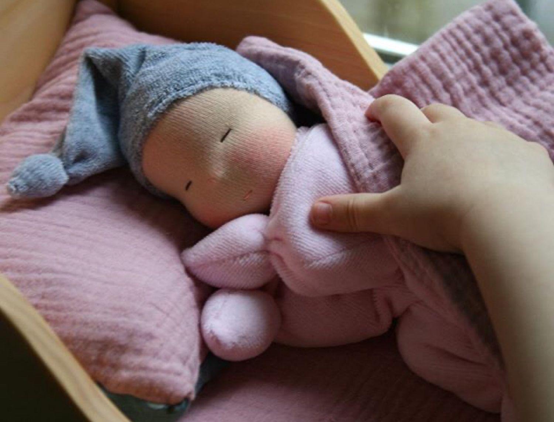 Вальдорфская кукла-бабочка, Вальдорфские куклы и звери, Люберцы,  Фото №1