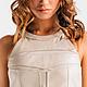 Платья ручной работы. Заказать Бежевое платье из натуральной кожи. LEMOGES Clothes Дизайнерская одежда. Ярмарка Мастеров. Однотонный