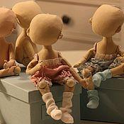 Шарнирная кукла ручной работы. Ярмарка Мастеров - ручная работа Шарнирная кукла кукла из ткани заготовка тела куклы. Handmade.