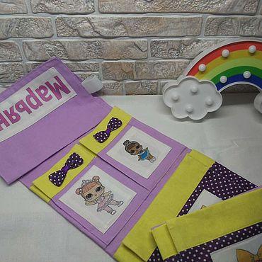 Works for children handmade. Livemaster - original item pockets elastic. Handmade.