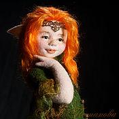 Куклы и игрушки ручной работы. Ярмарка Мастеров - ручная работа Тауриэль. Авторская войлочная кукла. Handmade.