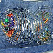 Сумки и аксессуары handmade. Livemaster - original item Crossbody bag: Bag denim