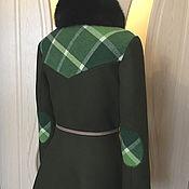 """Пальто ручной работы. Ярмарка Мастеров - ручная работа Пальто зимнее """"Foliage"""". Handmade."""