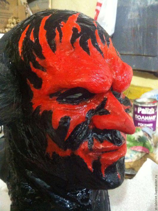 """Приколы ручной работы. Ярмарка Мастеров - ручная работа. Купить Силиконовая маска демона из к/фильма """"Астрал"""". Handmade. Комбинированный, силикон"""