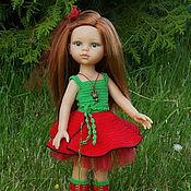 Куклы и игрушки ручной работы. Ярмарка Мастеров - ручная работа Красный мак - наряд для куклы Paola Reina. Handmade.
