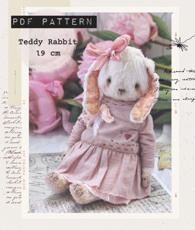Тедди Зайка 19 см, выкройка платья, Выкройки для шитья, Челябинск,  Фото №1