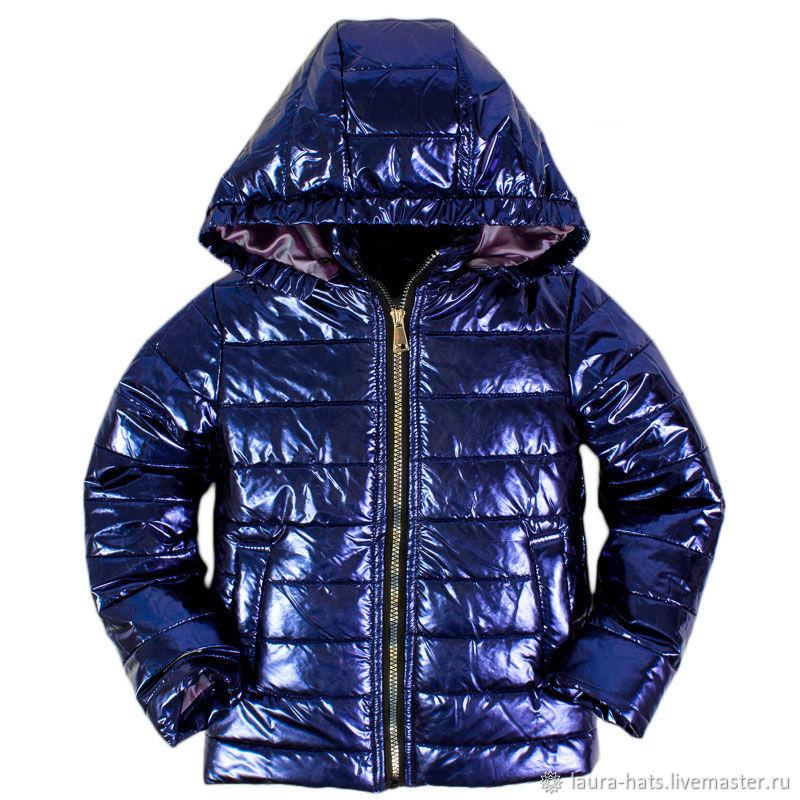 Одежда для девочек, ручной работы. Ярмарка Мастеров - ручная работа. Купить Куртка для девочки демисезонная Куртка лаковая. Handmade.