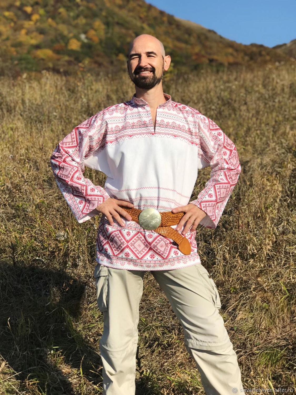 Рубаха мужская Иван, Народные рубахи, Пятигорск, Фото №1