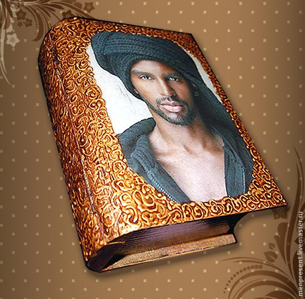 Trinket Boxes handmade. Livemaster - handmade. Buy Box - book 'Negro'.Box, gift girl, gift for birthday