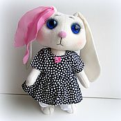 Куклы и игрушки ручной работы. Ярмарка Мастеров - ручная работа Игрушка зайчик девочка, рост - 26 см.. Handmade.