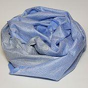 Аксессуары handmade. Livemaster - original item scarf felted Cold haze. Handmade.
