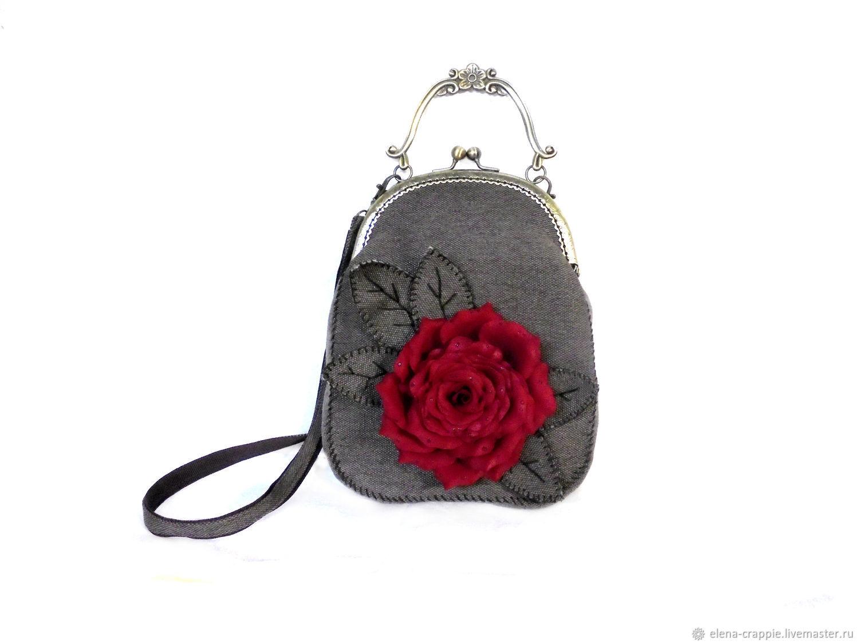 Women's bag ' rose ', Classic Bag, Volgodonsk,  Фото №1