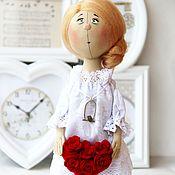 Куклы и игрушки ручной работы. Ярмарка Мастеров - ручная работа Любовь. Текстильная коллекционная кукла.. Handmade.