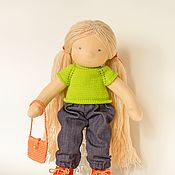 Куклы и игрушки handmade. Livemaster - original item doll as a gift. Handmade.