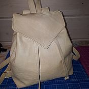 Backpacks handmade. Livemaster - original item Leather backpack MODEL 3. Handmade.